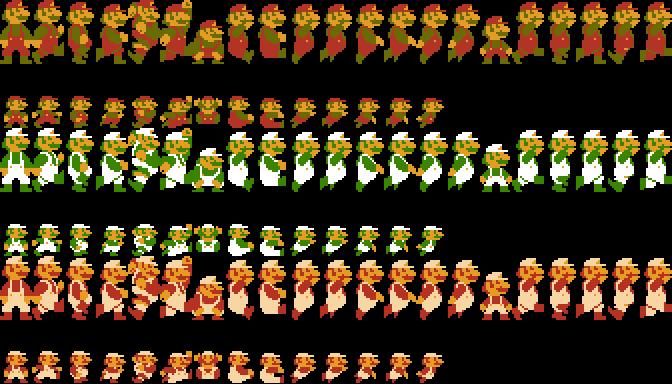 Super Mario Bros Level 1-1 - Backbone Game Engine